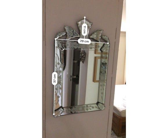 Venetian mirror  29x48cm