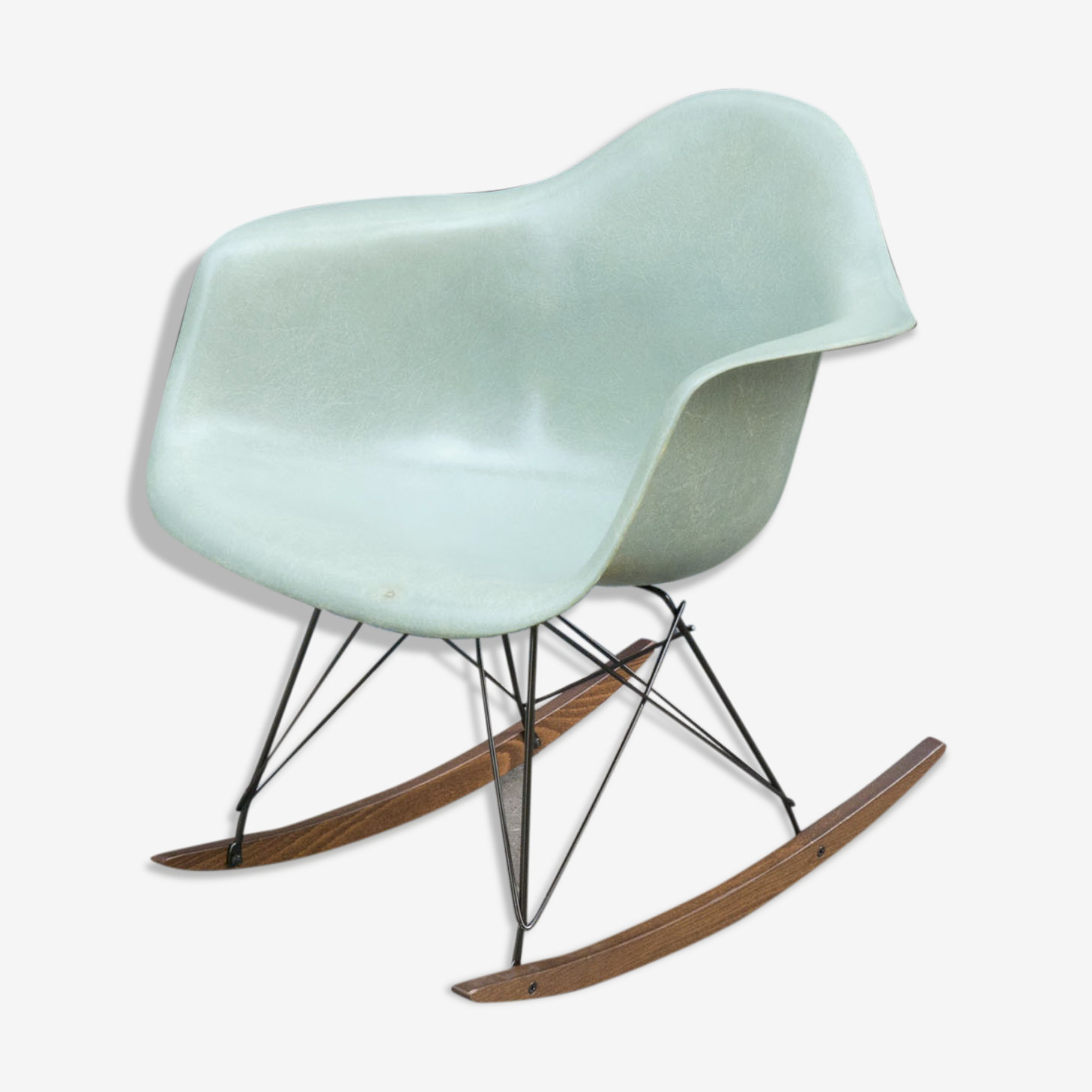 Rocking-chair Eames Zenith Herman Miller