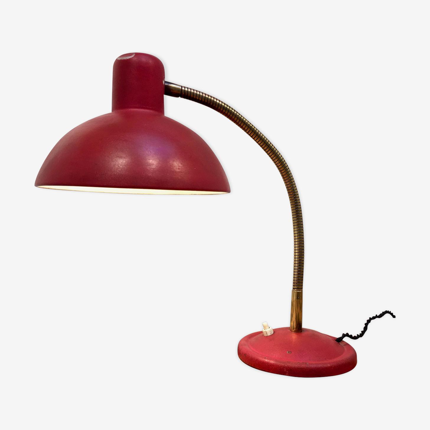 Lampe rouge des années 70