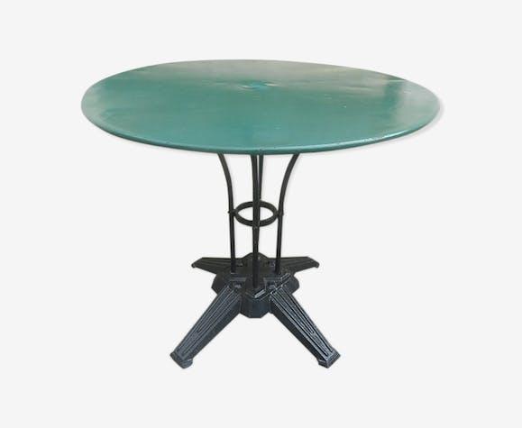 Table bistrot pied art déco