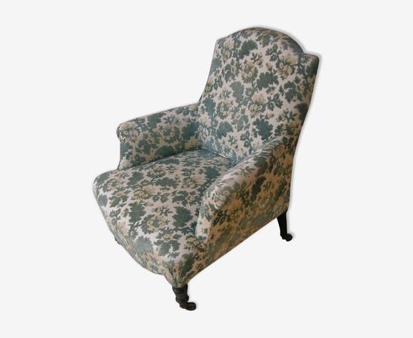 19th century armchair with foliage