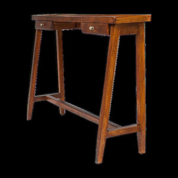 Console vintage en bois