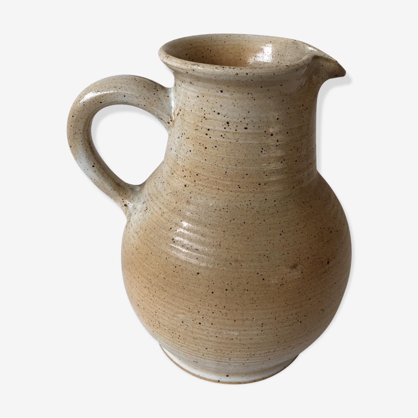 Polish stoneware pitcher