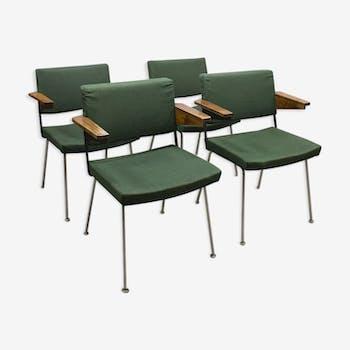 Set de 4 chaises design d'André Cordemeyer pour Gispen