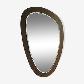 Miroir scandinave asymétrique 60 x 37 cm