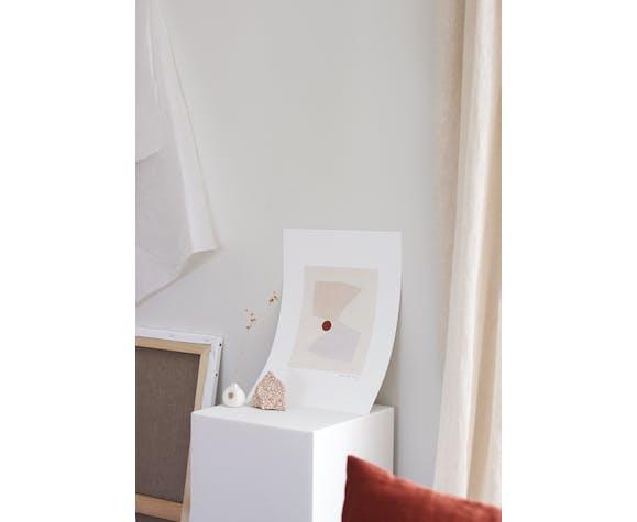 OAK Gallery Illustration Mirror