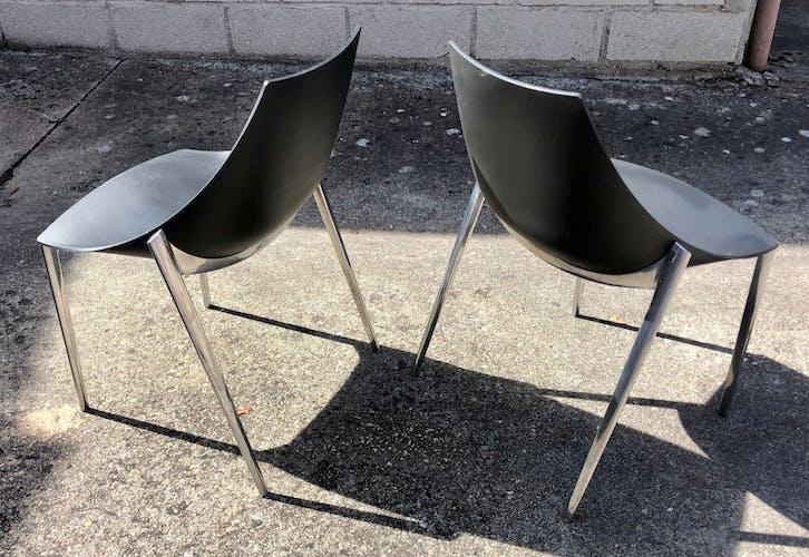Chaise design Hoop Marco Marian