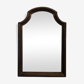 Miroir en bois doré 38 x 26 cm