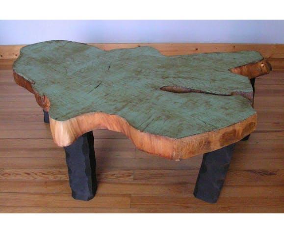 Table Basse Rondin De Bois Selency