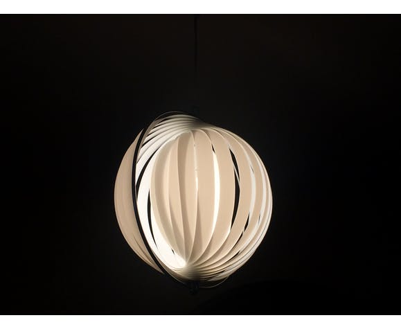 Suspension Moon de Verner Panton pour Louis Poulsen, 1960