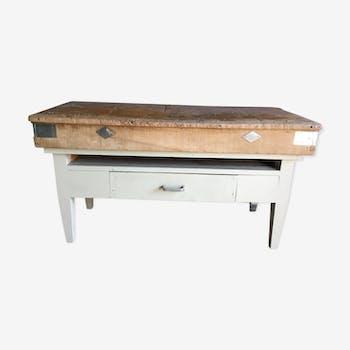 meuble de m tier comptoir vintage d 39 occasion. Black Bedroom Furniture Sets. Home Design Ideas