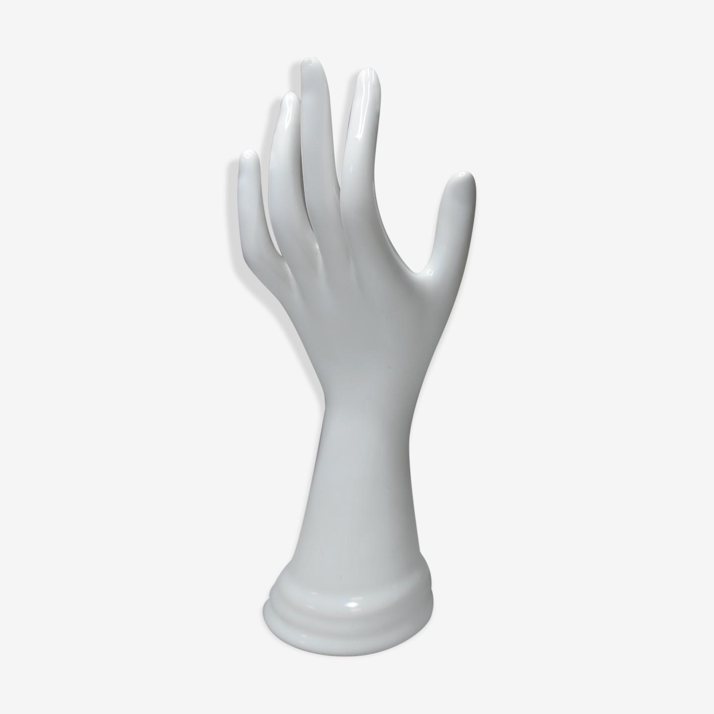 Main enfant porcelaine blanche vintage