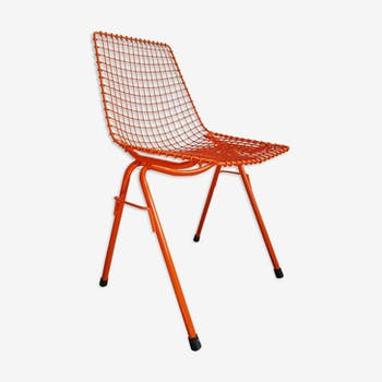 Chair steel by Henryk Sztaba for PSS Spolem 1970 s