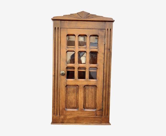 Armoire vitrine à pharmacie ancienne