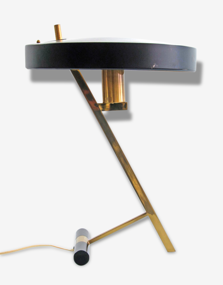 Louis Kalff 'Z'- vintage Philips design table lamp