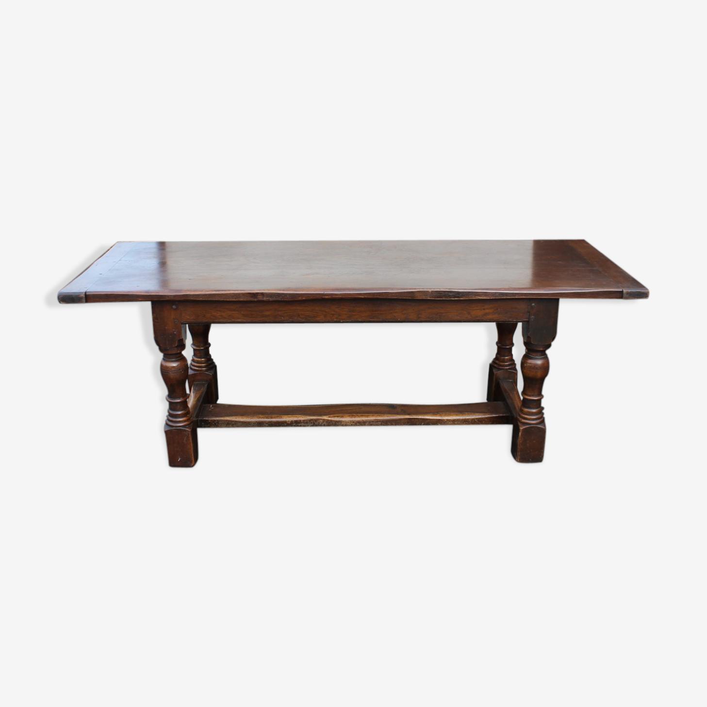 Table réfectoire en chêne