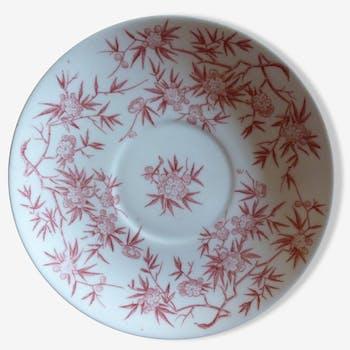 Small plate sarreguemines