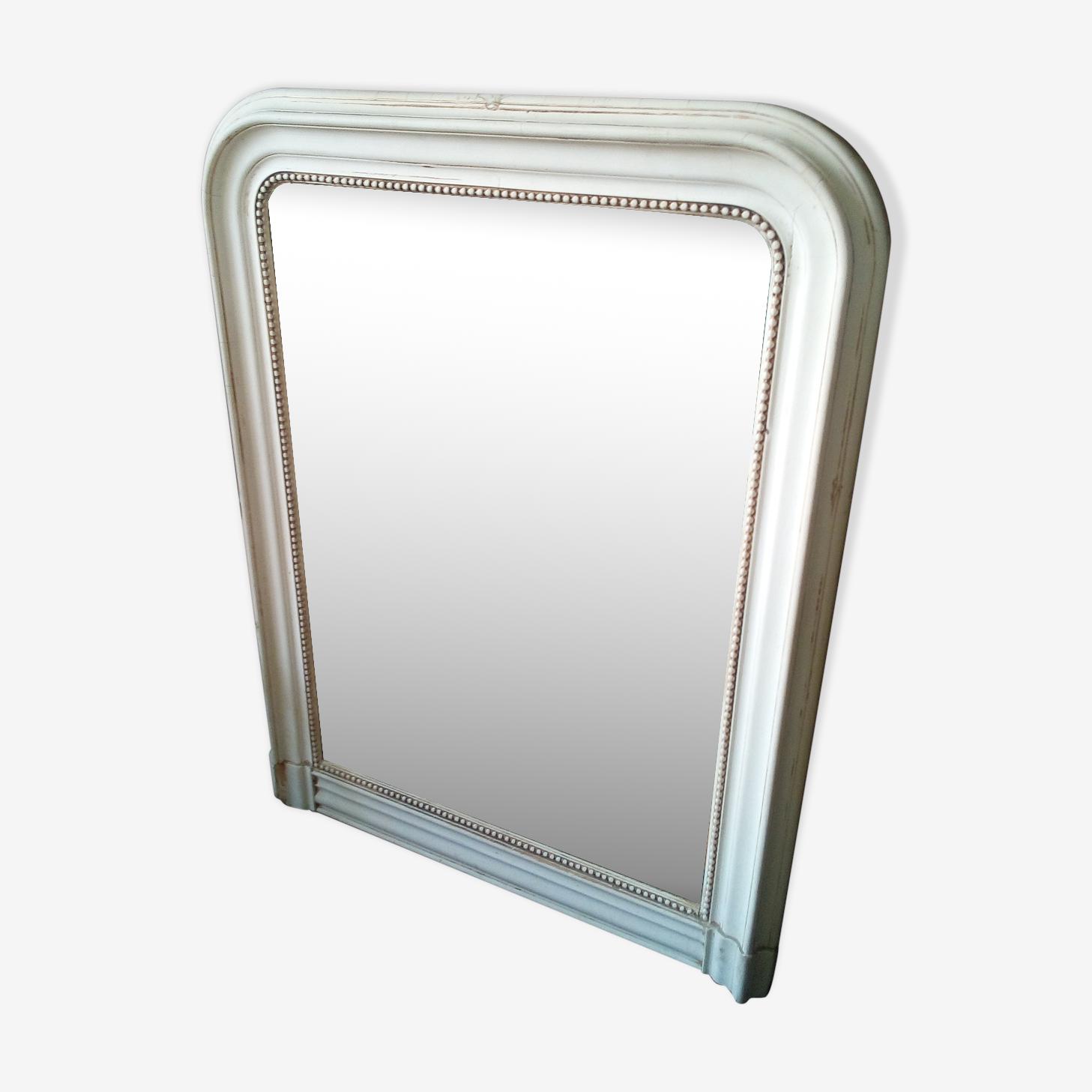 Miroir ancien patiné 98x75cm
