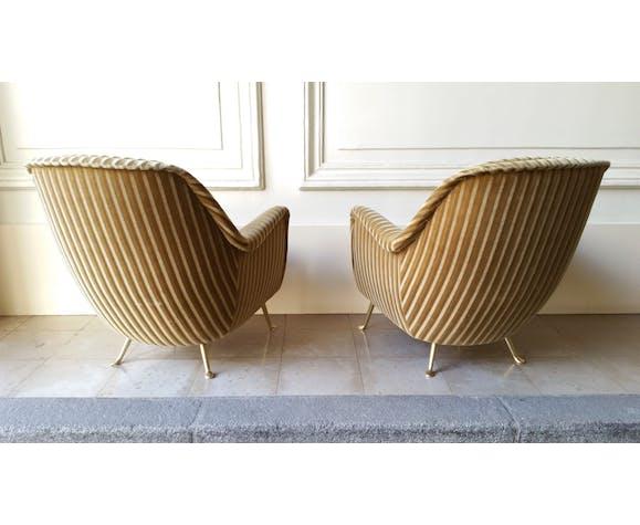 Fauteuil egg design, Italien vintage