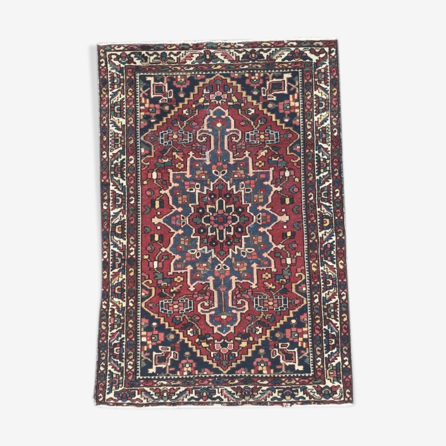 Tapis ancien persan bakhtiar 137x202 cm