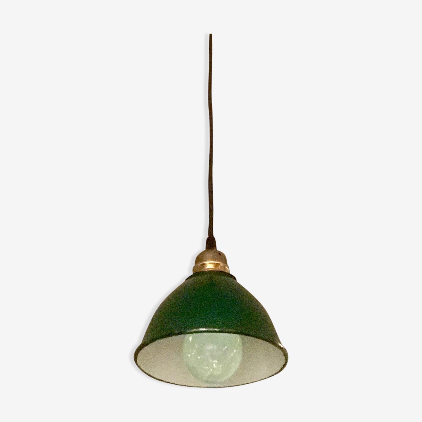 Small hanging indus enameled metal