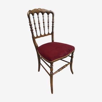 Chaise fausse fourrure lectrique diago vintage sixties pelfran france moumoute or velours - Chaise electrique en france ...