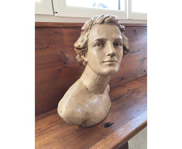 Buste en terre cuite H. Ornesto