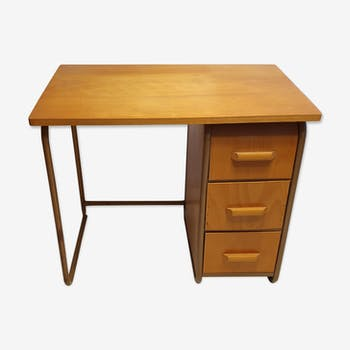 Children's desk in wood and metal 1950