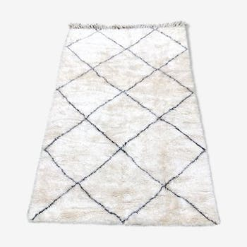 Beni ouarain rug, Berber carpet 240X155cm