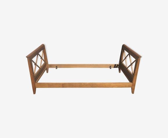 Lit années 50 en bois style scandinave