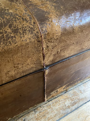 Canapé vintage cuir