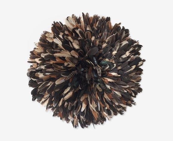 Juju Hat noir moucheté 60 cm