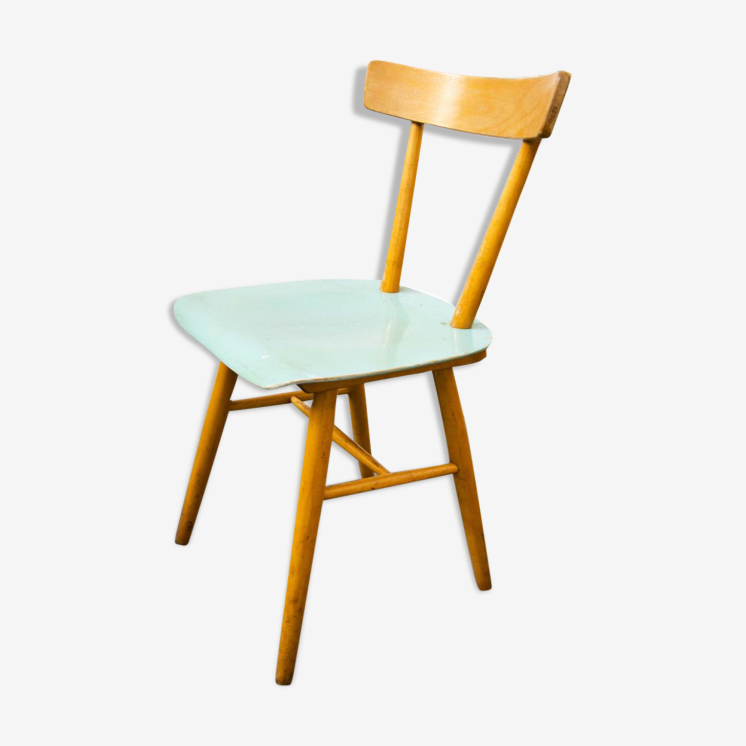 Ton chair in painted wood