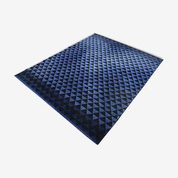 Tapis géométrique  1980  - 199x247cm