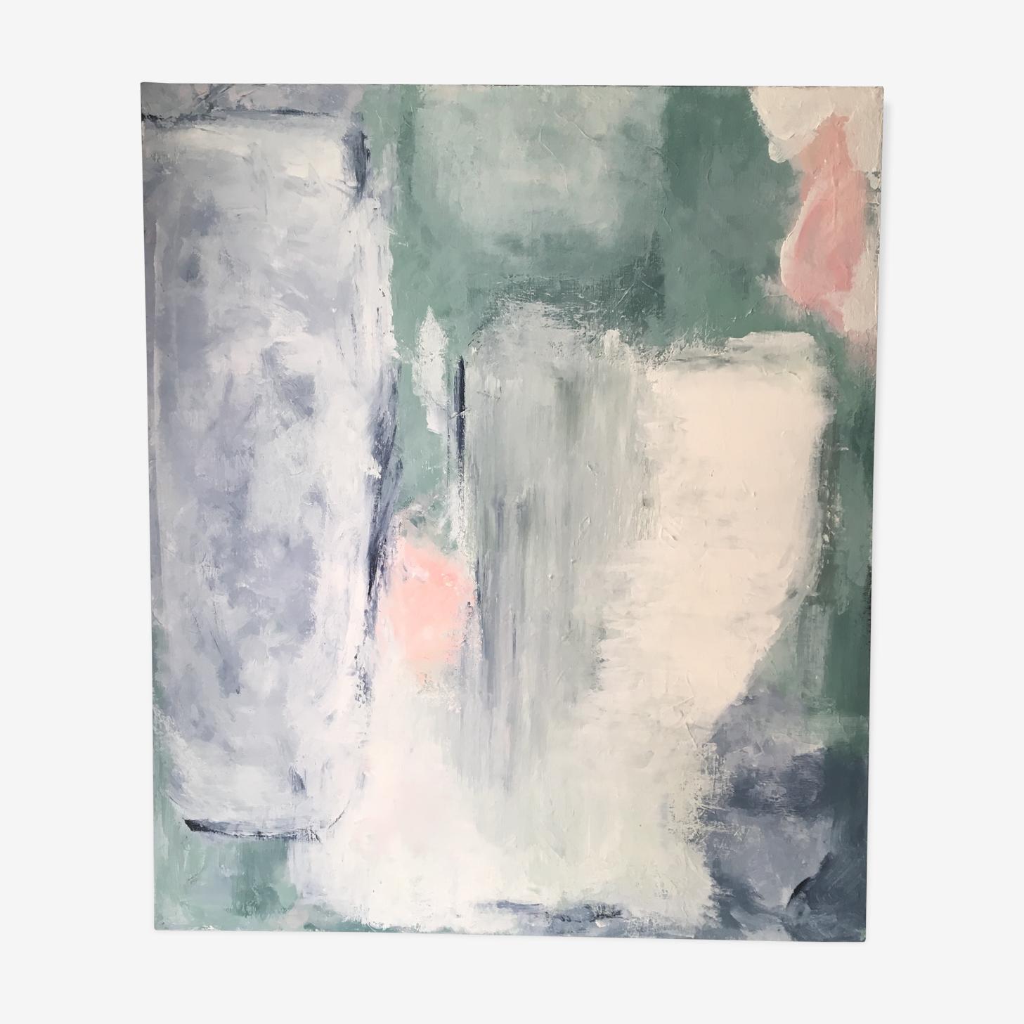 Acrylic on canvas - The blue hour
