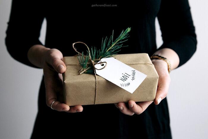 Les étiquettes cadeaux à imprimer