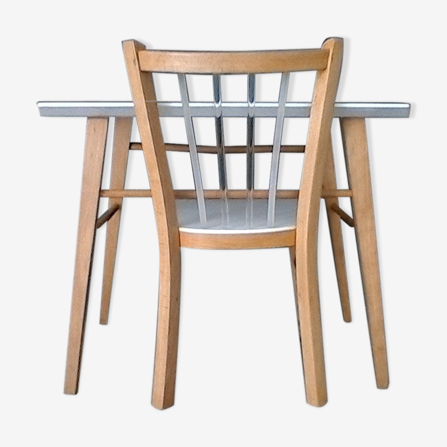 Ensemble table et chaise écolier
