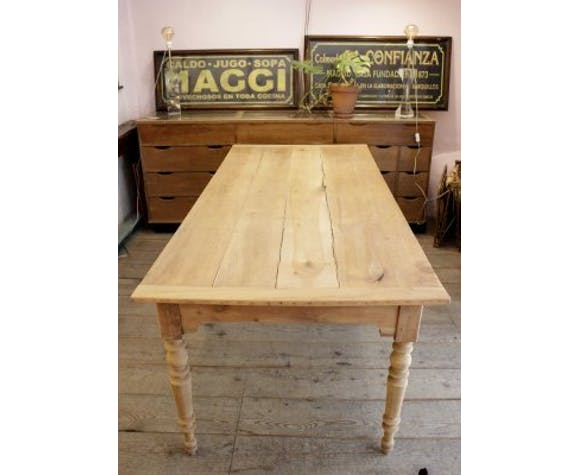 Cherry Dining Table 1940s Selency