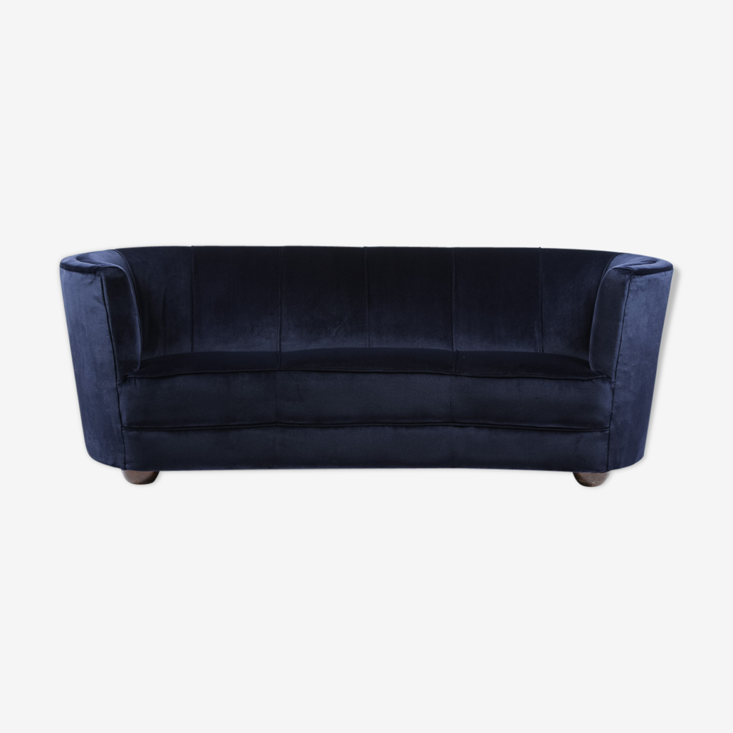 1940s Danish 'Banana' Sofa