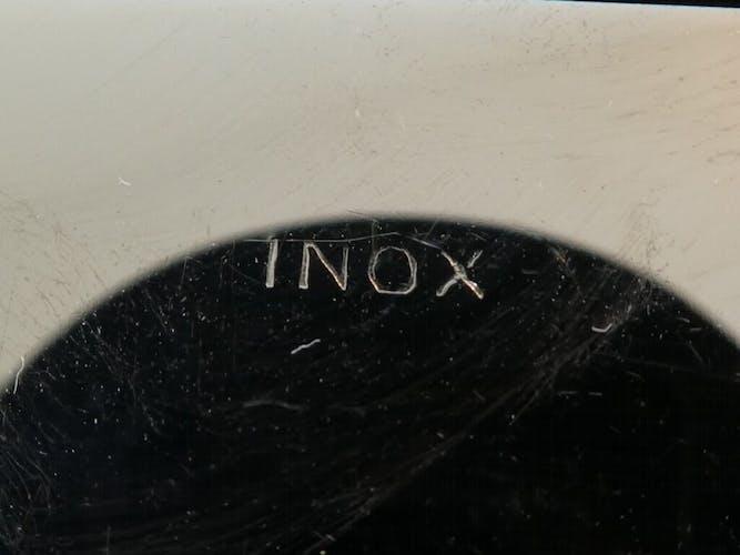 12 couteaux a entremets en metal argenté lame inox Louis XV
