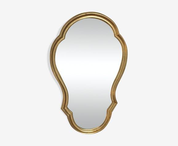 Miroir doré style Louis XV 35x59cm