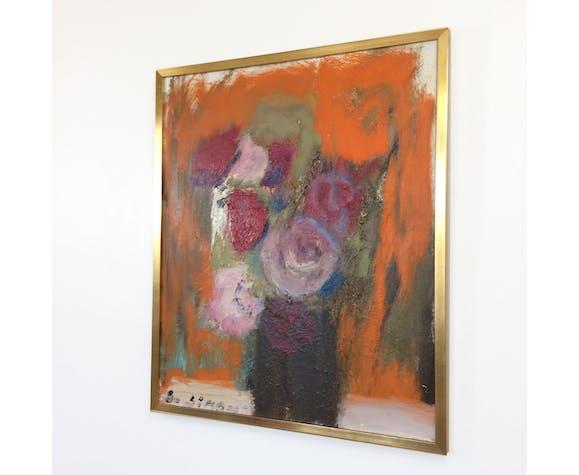 """Toile """"Bouquet de rose"""" par Susana Simon"""