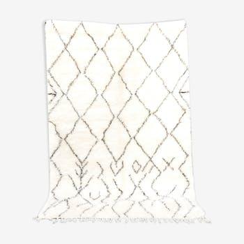 Berber carpet Beni Ouarain 180x260 cm Marmoucha carpet in high quality wool