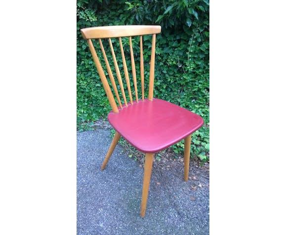 Lot de 6 chaises vintage dépareillées | Selency