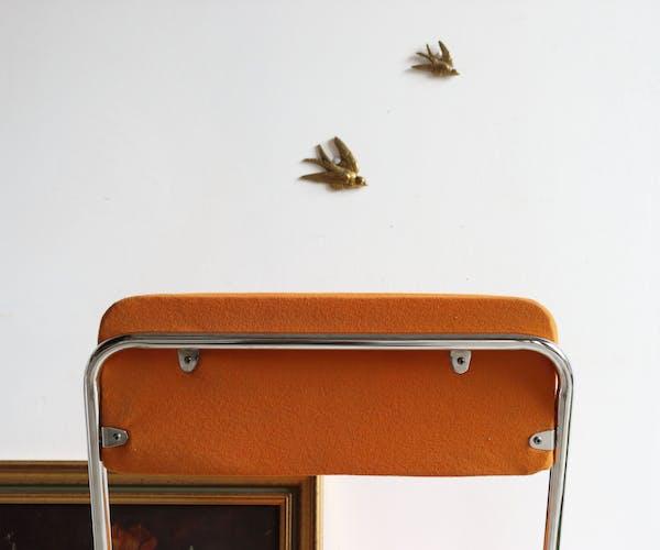 Chaise pliante Eyrel années 70