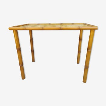 Table en bambou vintage