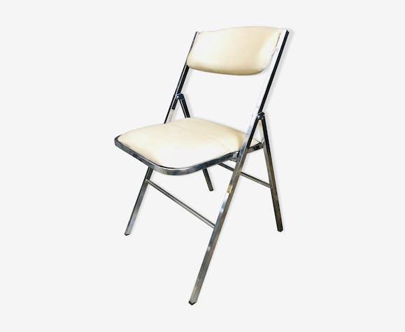Chaise pliante design francais