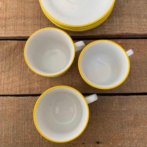 Lot de tasses à café