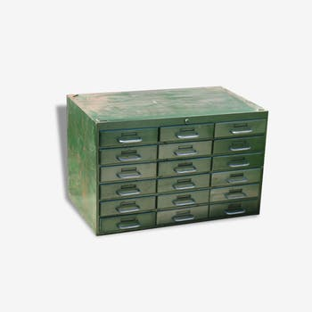 Industrial furniture a drawer