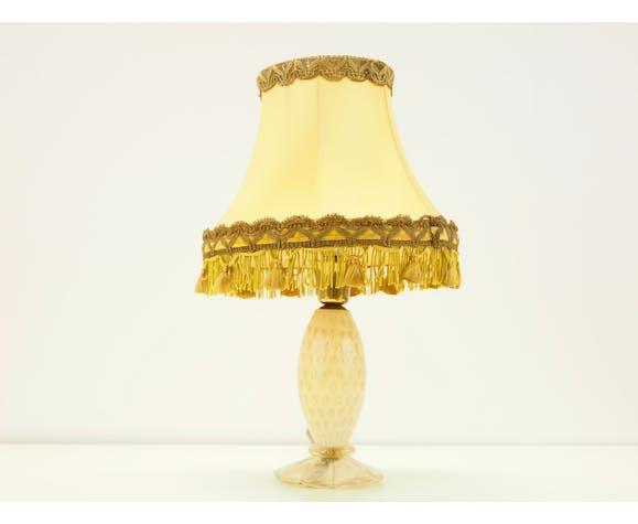 Lampe Barovier & Toso Cordonato d'Oro vintage Murano